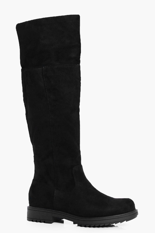 Flat Rider Boots  black