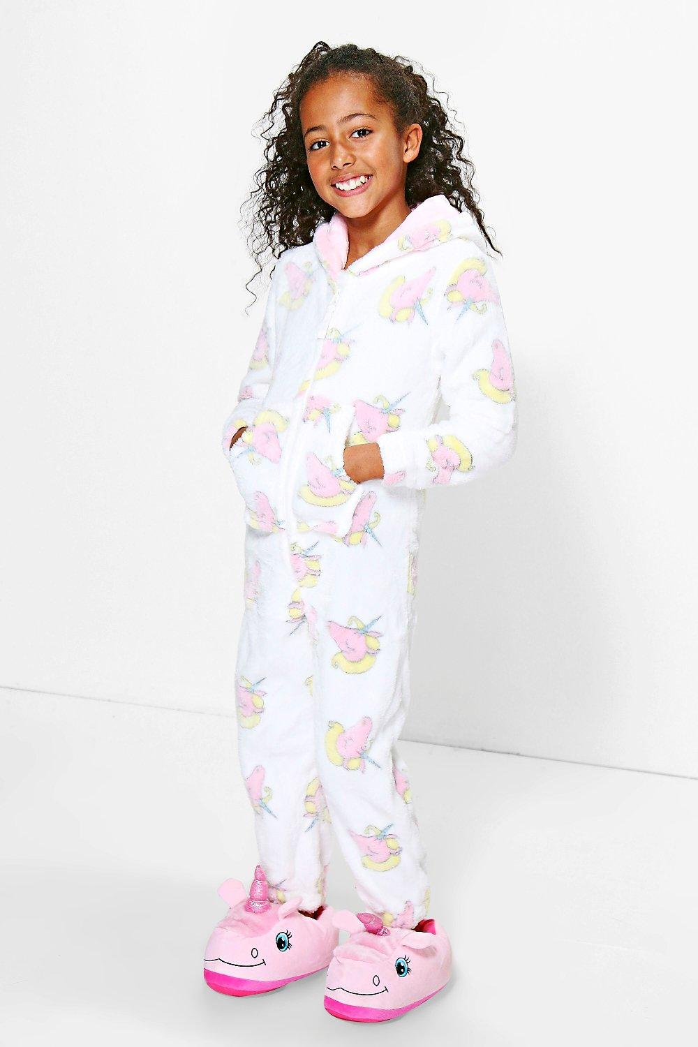 Product photo of Unicorn onesie ivory