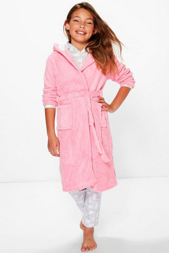 Girls Cat Robe