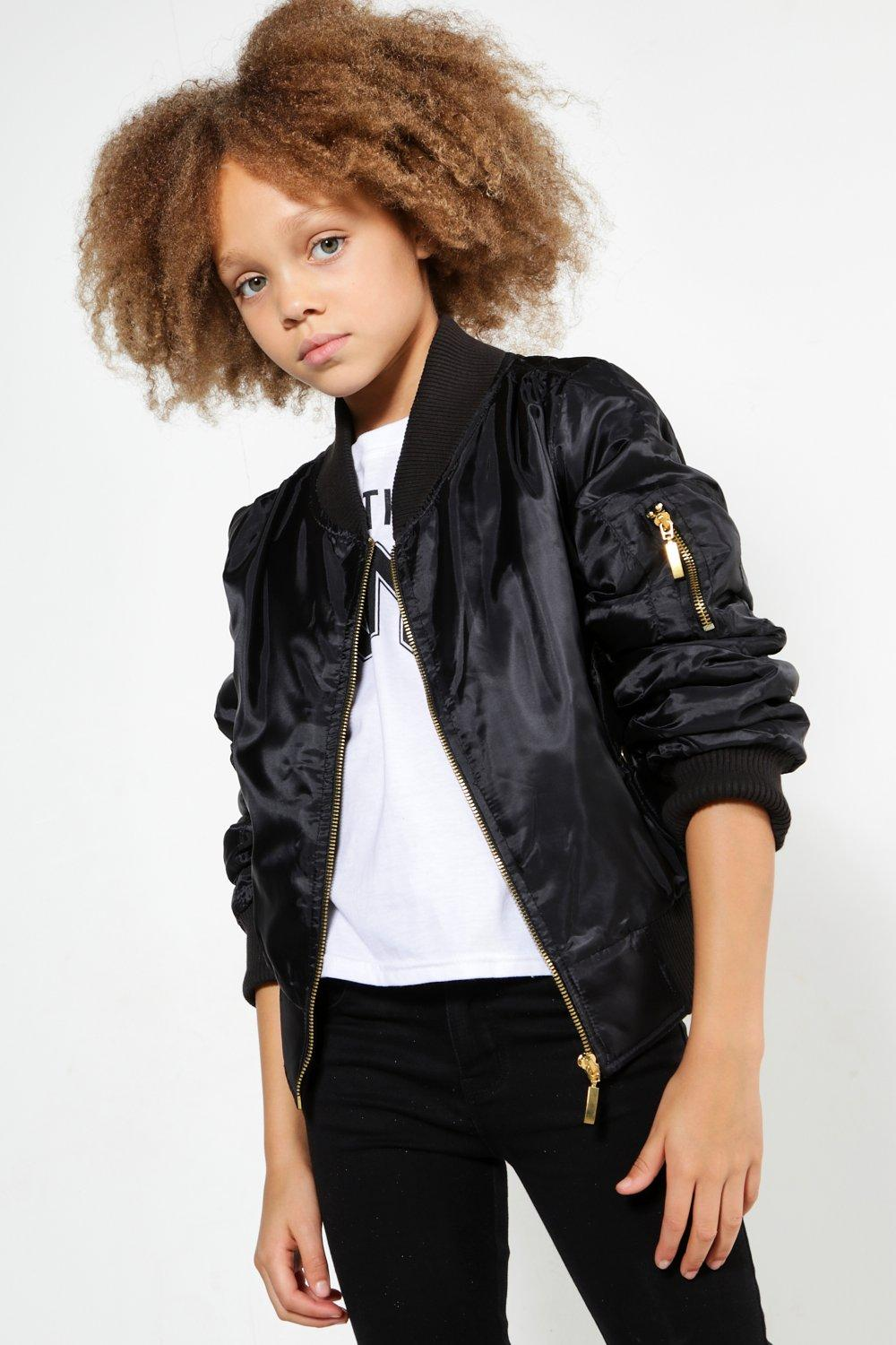 Girls MA1 Bomber Jacket