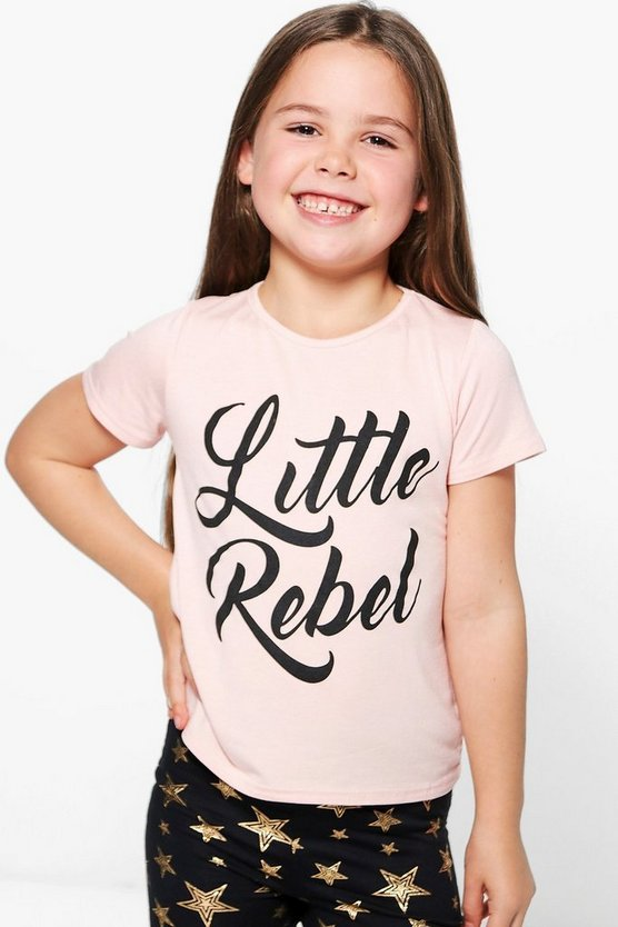 Girls Little Rebel Tee
