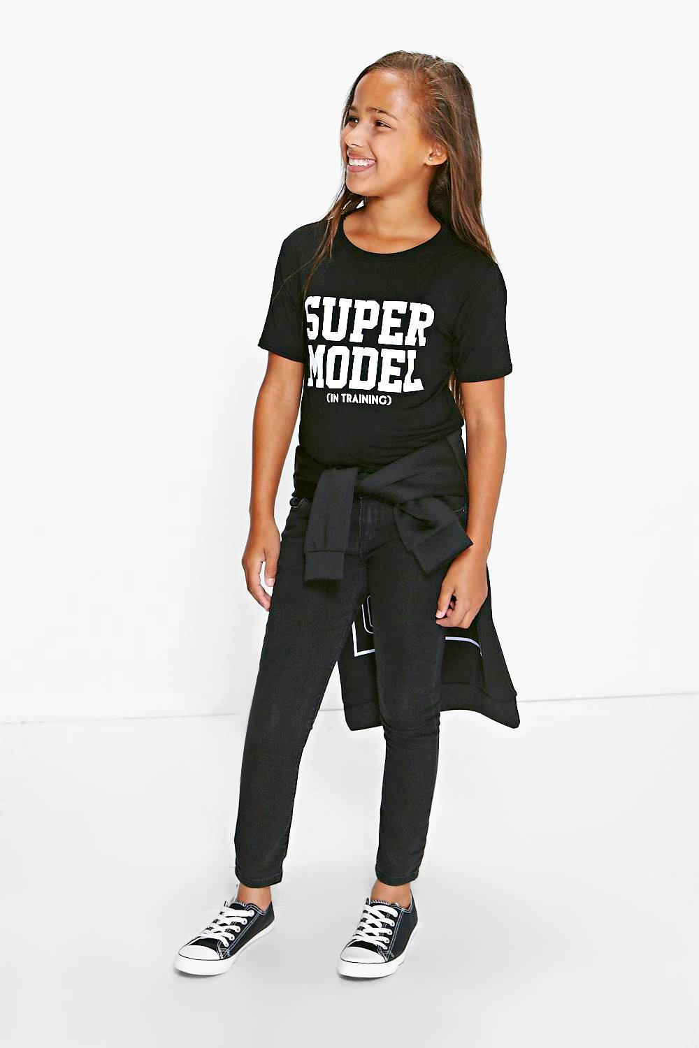 Girls Supermodel in Training Tee