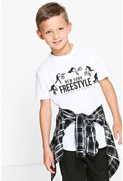 Boys Freestyle Tee