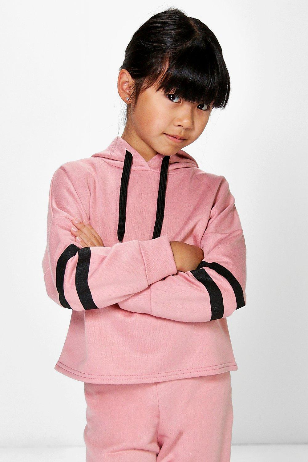 Girls Cropped Hoody