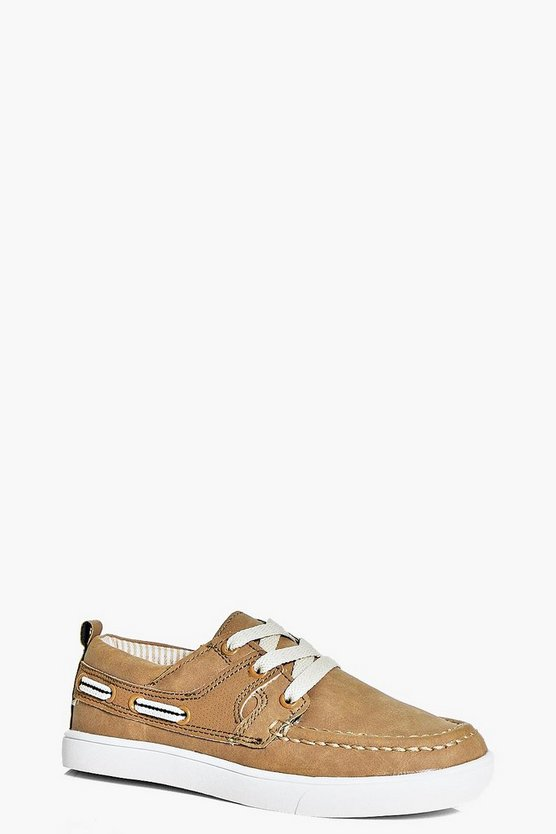 Boys Lace Up Loafers