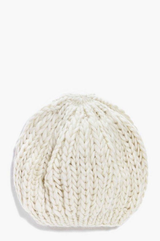 Girls Knitted Beanie Hat