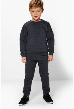 Boys Diamond Quilt Joggers