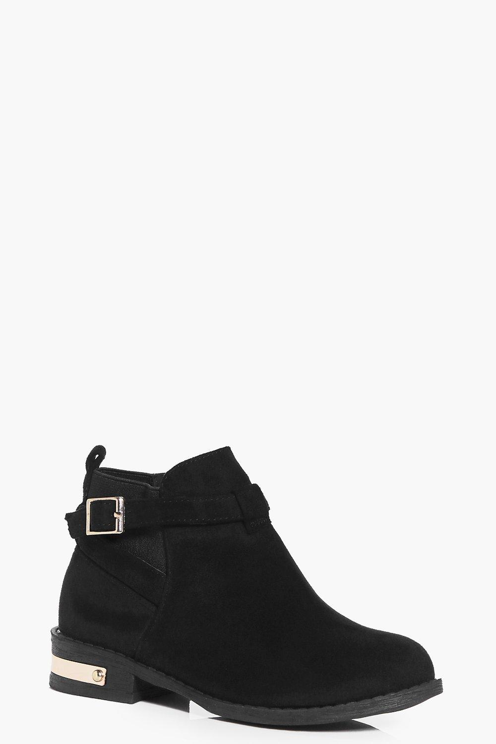 Girls Metal Detail Chelsea Boots