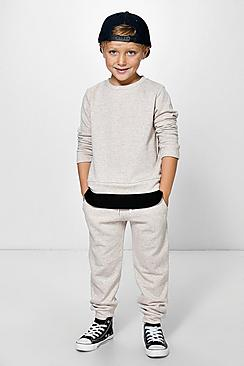Boys Cuff Detail Joggers