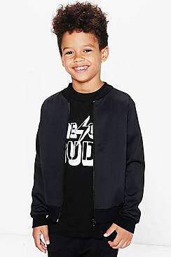 Boys Scuba Bomber Jacket