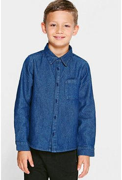 Boys Denim Shirt