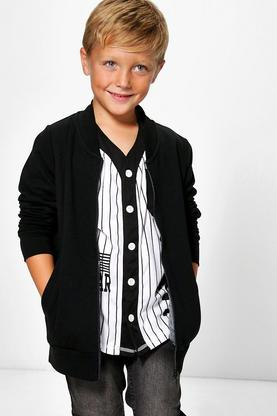 Boys Smart Bomber Jacket
