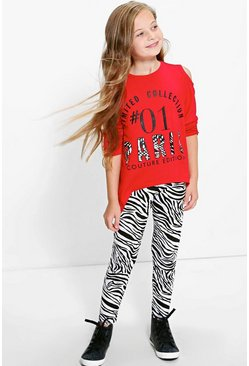 Girls Limited Collection Top & Leggings Set