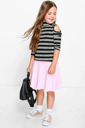 Girls Mix & Match Skater Skirt