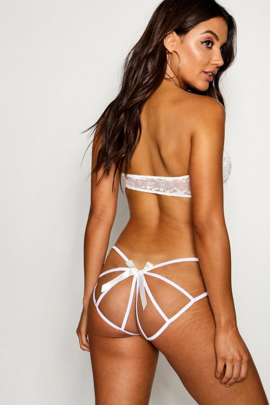 Caged Bow Back Knicker