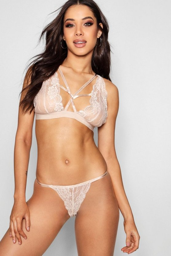 Triple Strap Bralet Set