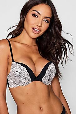 Rosie Super Push-Up-BH - Boohoo.com