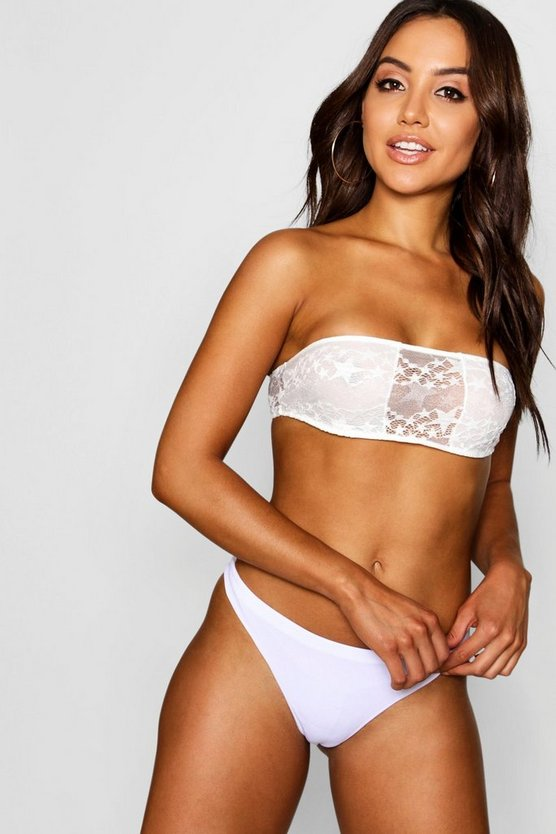 Star Lace Bandeau