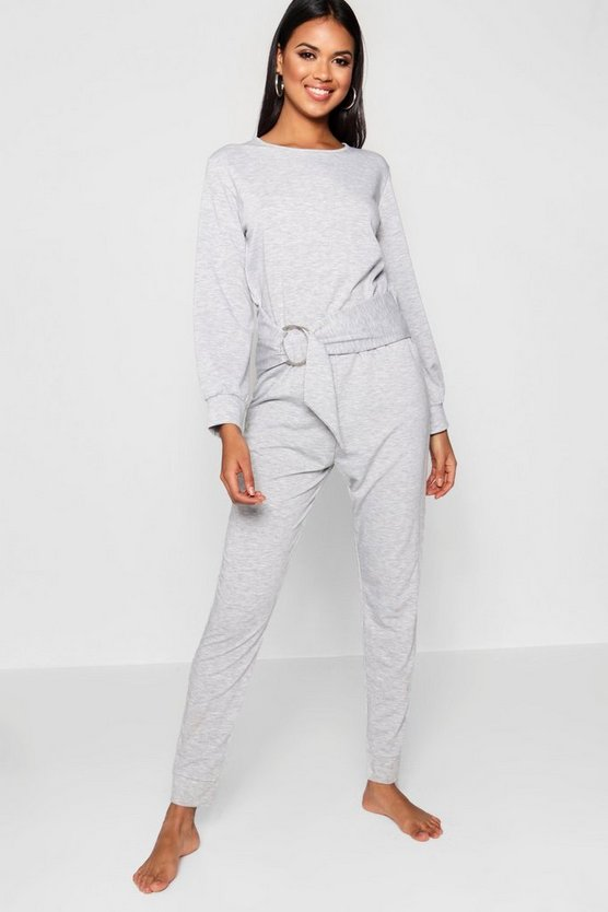 Fiona Ring Detail Lounge Jumpsuit