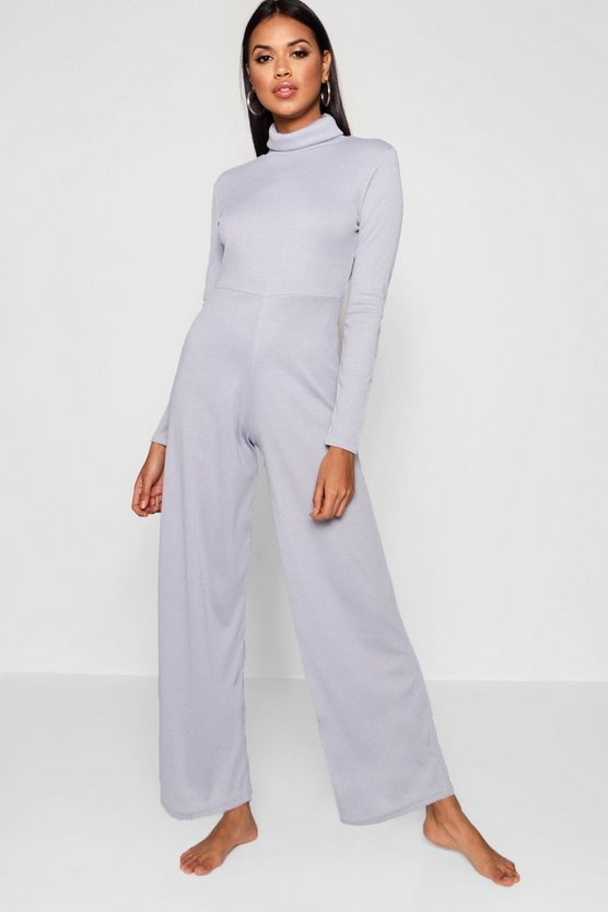 Chelsea Roll Neck Jumpsuit by Boohoo