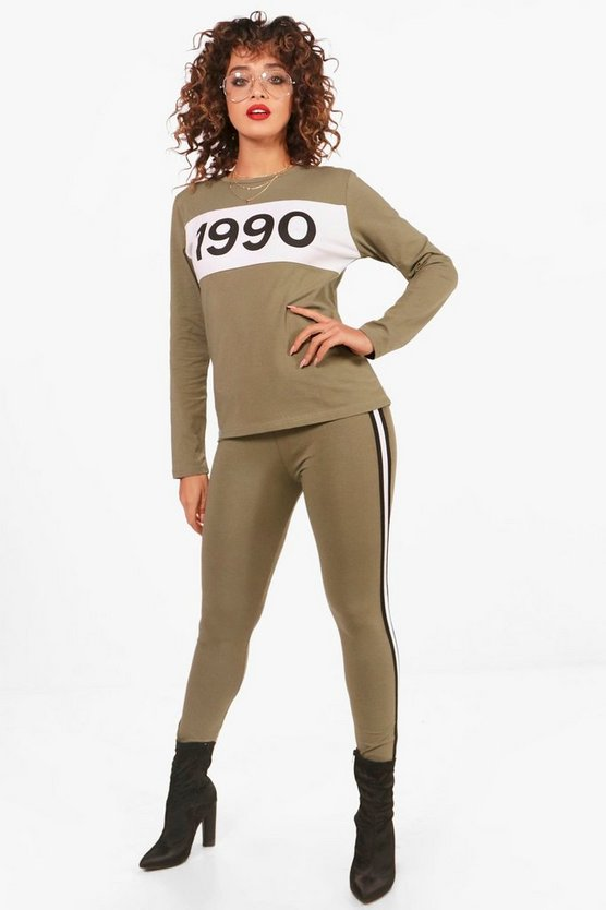Hailey 1990 Top & Ensemble legging