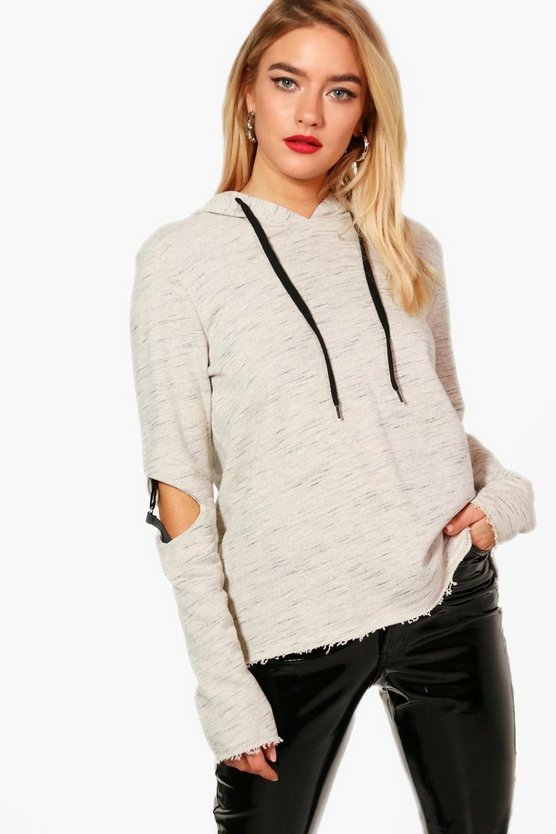 Lauren Fit D-Ring Detail Hoodie