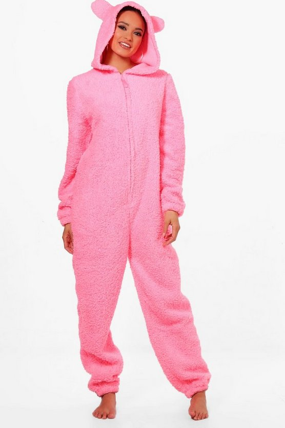 Shelly Bear Ear Onesie