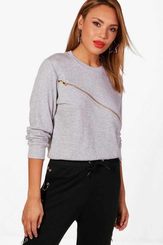 Lucy Zip Sweater