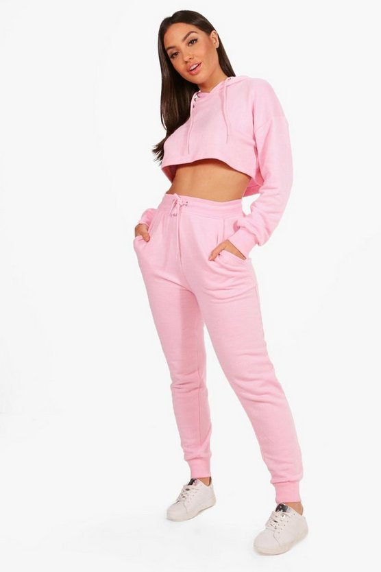Madeleine Crop Lounge Top & Jogger Set