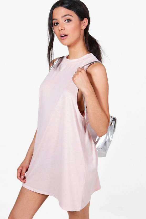 Amelia High Neck Lounge Dress
