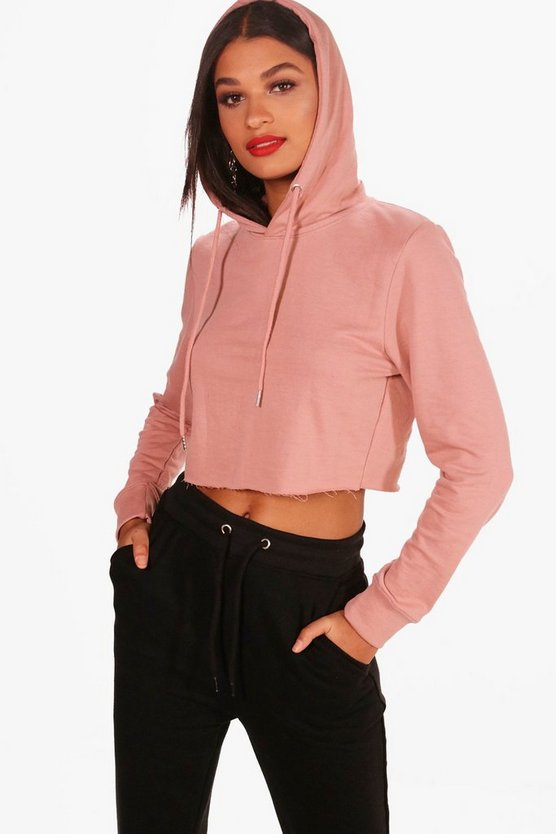 Zoe Cropped Lounge Hoodie