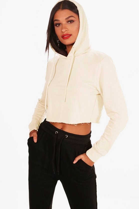 Zoe Athleisure Cropped Hoodie