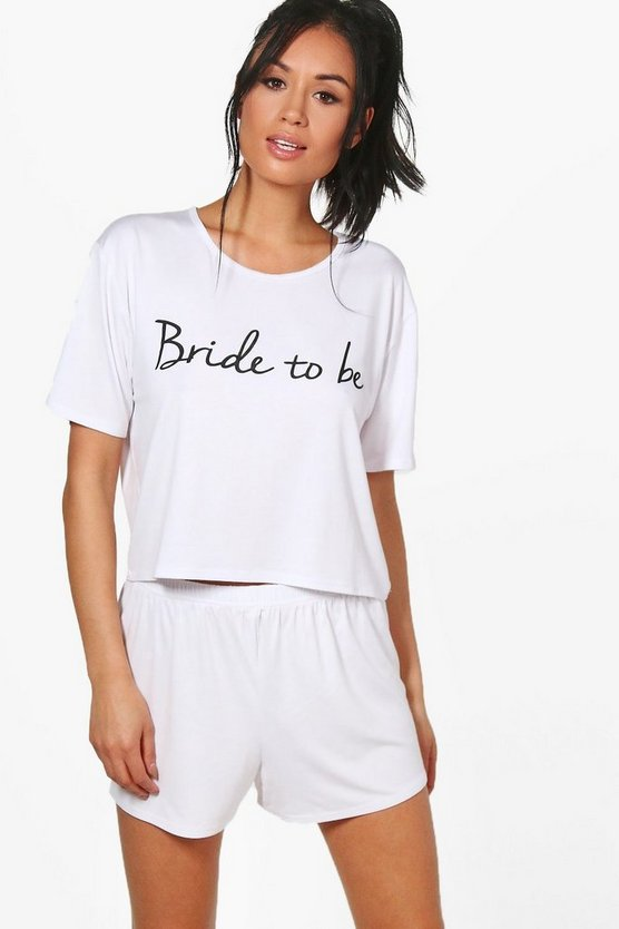 Martha Bride To Be T-Shirt + Short Set