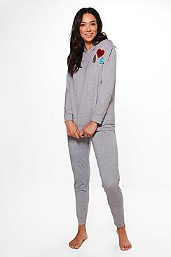 Hoodie & Legging Badge Set