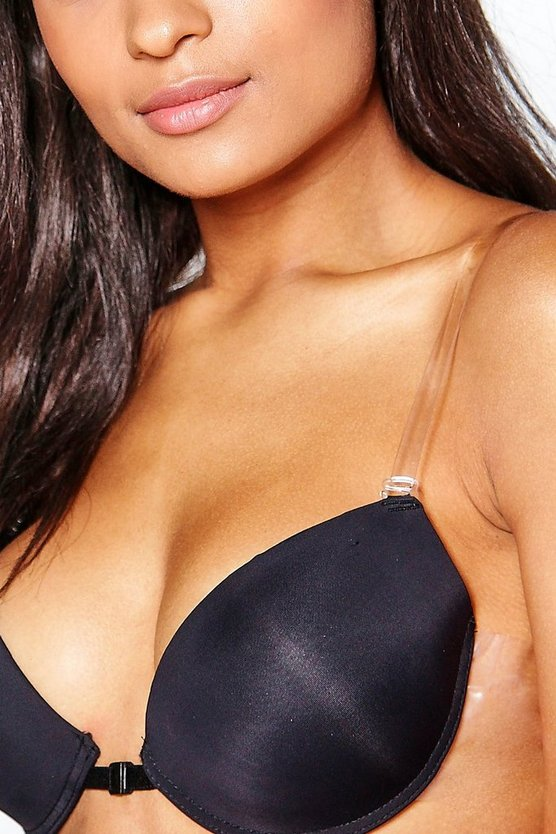 Phoebe Clear Silicone Adjustable Bra Straps