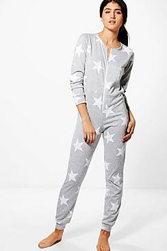 Harriet Star Print Onesie