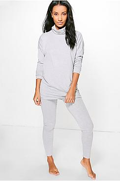 Emma Roll Neck Lounge Set