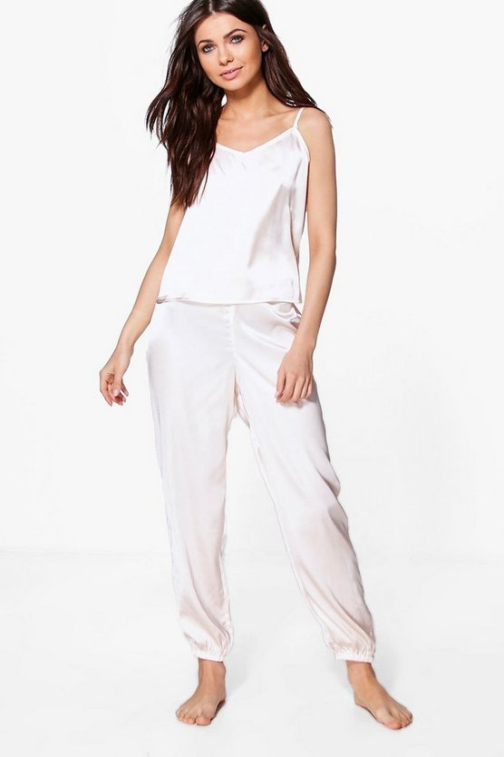 Alice Satin Cami PJ Trouser Set