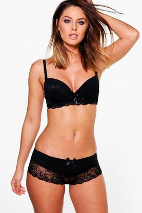 Vanessa Ruffle & Lace French Knicker