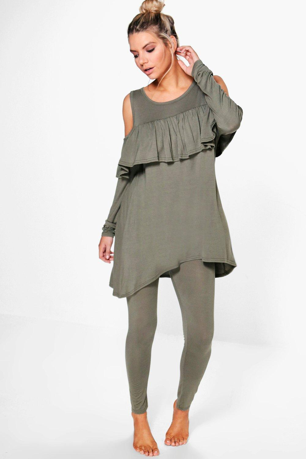 Nancy Frill Top Jersey Co-Ord
