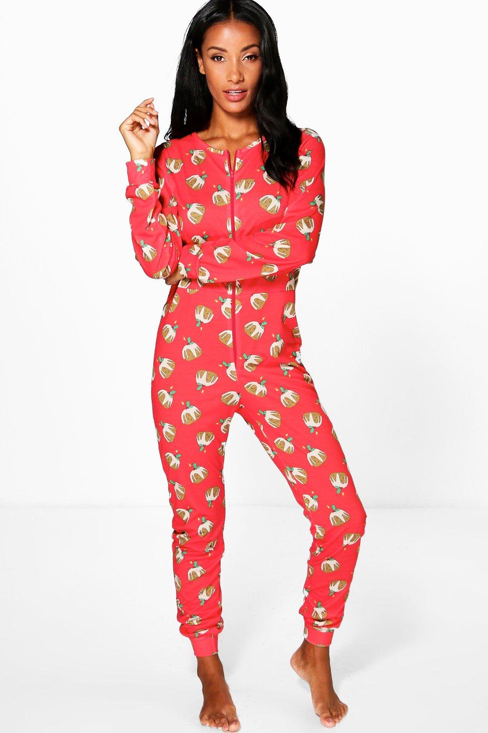 Rosie Red Christmas Pudding Onesie