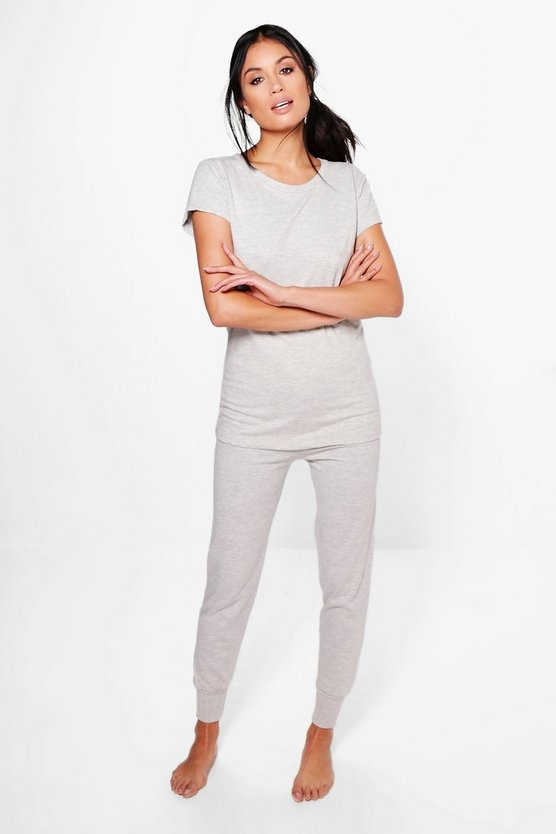 Alice Tee And Jogger Basic Lounge Set