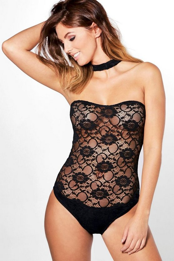 Alice Chocker Detail Lace Body