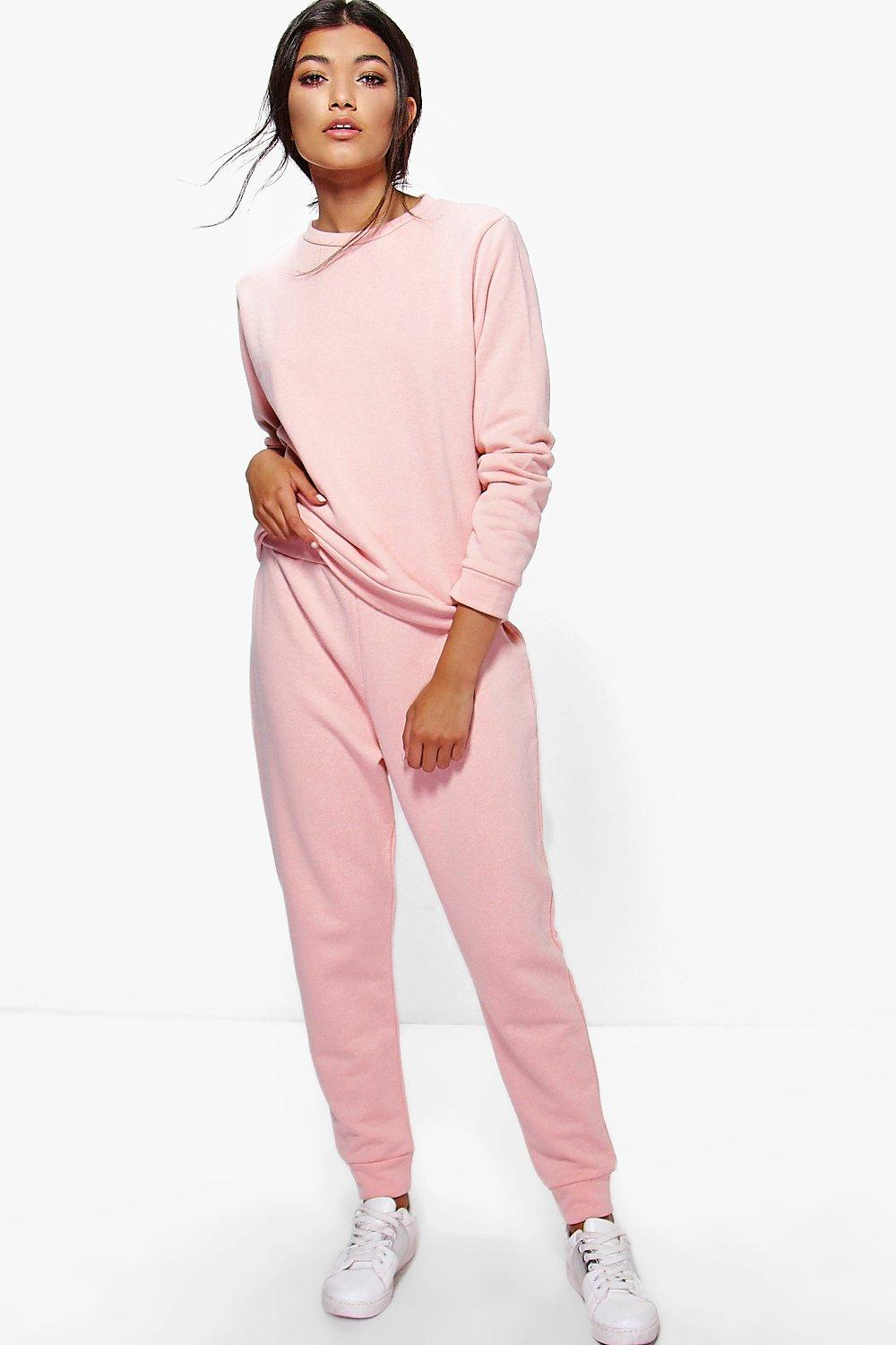 Sophia Loop Back Basic Lounge Tracksuit