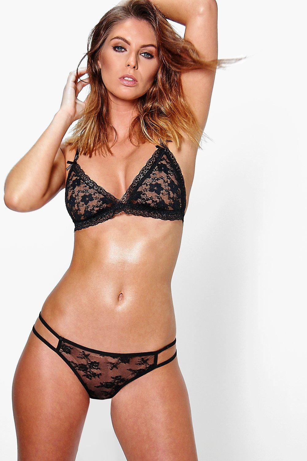 Molly Double Strap Lace Brief