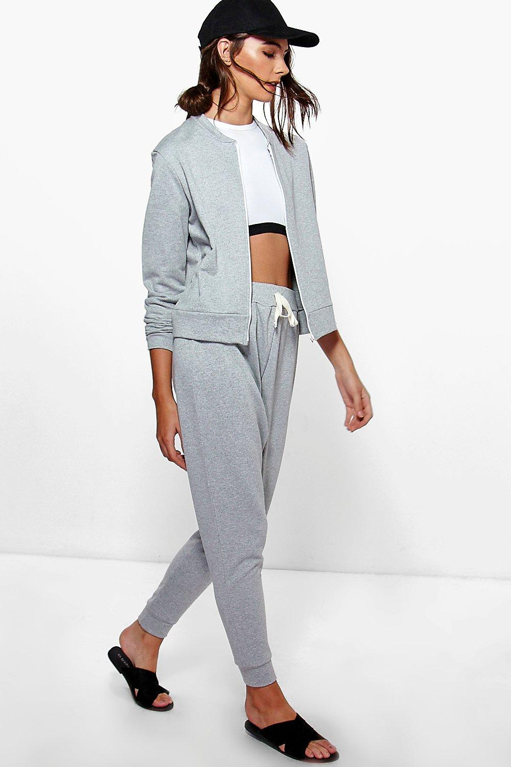 Poppy Bomber Jacket And Jogger Lounge Set