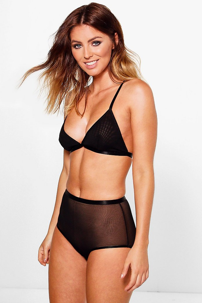 Emma Mesh High Waist Brief