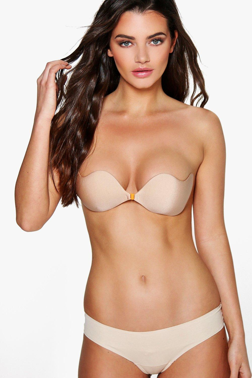Emma Stick On Strapless Front Fasten Bra