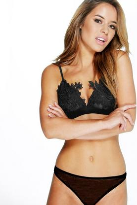 Isobel Floral Large Applique Bralet