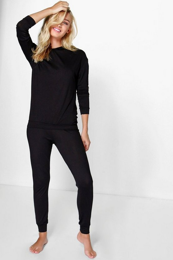 Kelly Hooded Top And Cuff Skinny Joggers